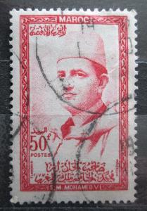Maroko 1956 Sultan Mohammed V Mi# 413 1456