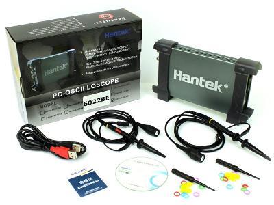 Osciloskop Hantek 2 x 20MHZ 6022BE USB