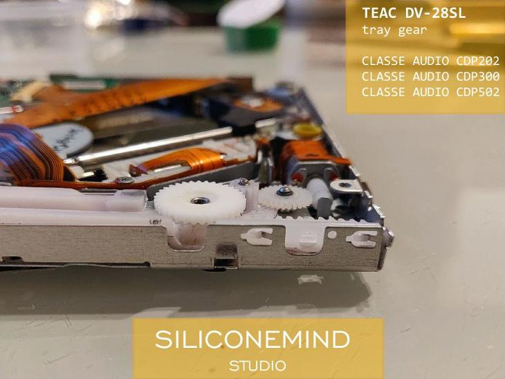 Ozub. kolopro TEAC DV-28SL  ( CLASSE AUDIO CDP202, CDP300, CDP502 ) - TV, audio, video