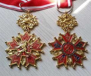 ČR řád Bílého Lva Medaile Bílý LEV vyznamenání