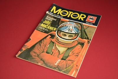 časopis MOTOR 13/1981 srpen