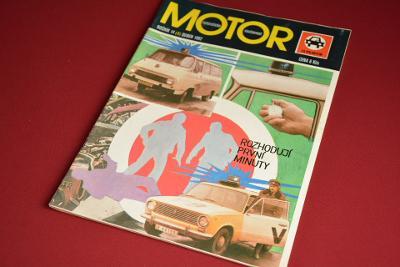 časopis MOTOR 14/1982 duben
