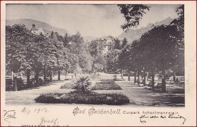 Bad Reichenhall * Curpark Achselmannstein, park * Německo * Z1609