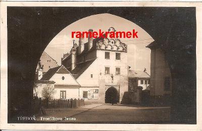 Třeboň brána 1929 (Jindřichův HradecČeslé Budějovice Trhové Sviny)