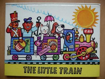 The Little Train - ilustrace Vojtěch Kubašta - ARTIA 1982