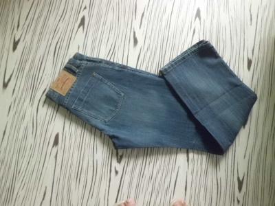 RESERVED pánské málo použité džíny  L  pas 76cm