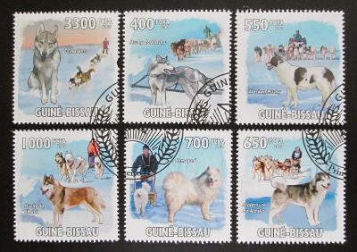 Guinea-Bissau 2009 Psi Aljašky a Sibiře Mi# 4456-61 Kat 13€ 1488