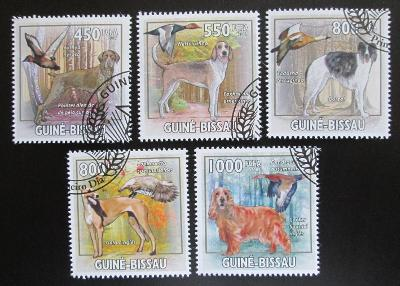 Guinea-Bissau 2009 Lovečtí psi a kachny Mi# 4486-90 Kat 14€ 1488