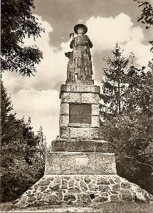 HRÁDEK - pomník Jana Koziny - Domažlice