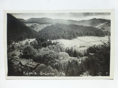 Brusno - kúpele, Banská Bystrica 1937 - SLOVENSKO