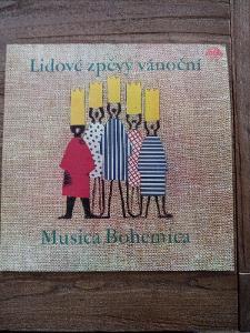 LP Lidové zpěvy vánoční Musica Bohemica