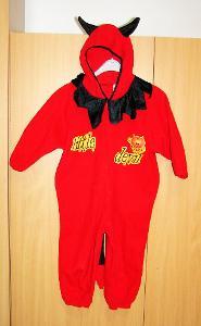 6541 ČERTÍK - karnevalový kostým pro děti vel.104