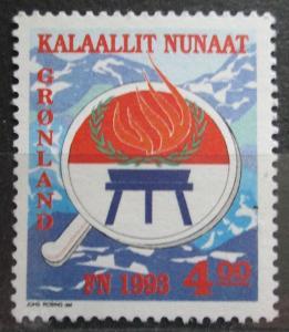 Grónsko 1993 Mezinárodní rok původních obyvatel Mi# 230 0696