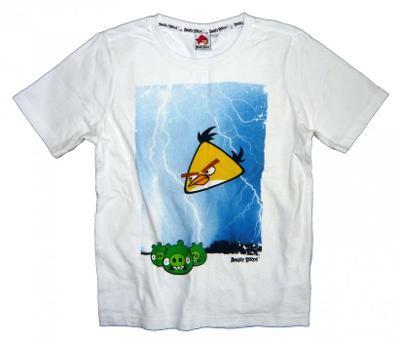 ANGRY BIRDS chlapecké tričko, vel. 8 - 9 let