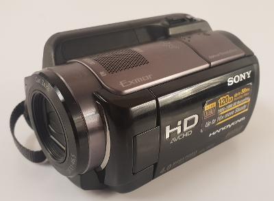 SONY HDR XR200VE kamera HDD,2MEGA,1920x1080, 120GB, 15x zoom