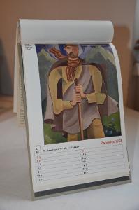 Kalendář Družstevní práce 1931 (bez titulního listu)