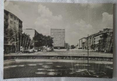 Pohlednice , Mladá Boleslav č.1 , stará , černobílá , neprošlá poštou