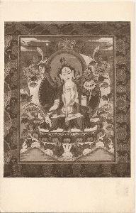 Mongolský obraz Budhy