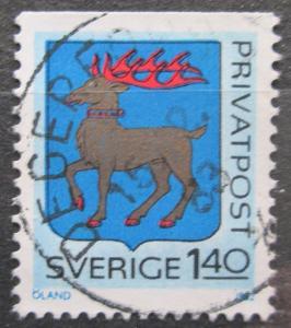 Švédsko 1982 Znak Öland Mi# 1190 1462