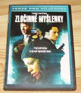 Zločinné myšlenky DVD