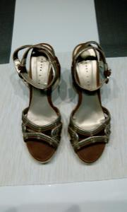 letní páskové boty