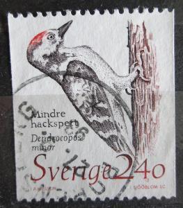 Švédsko 1989 Strakapoud malý Mi# 1522 1455