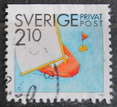 Švédsko 1989 Plachetnice Mi# 1539 1451