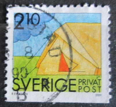Švédsko 1989 Stan Mi# 1544 1451
