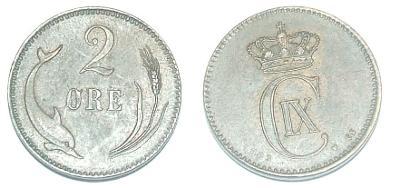 Dánsko 2 O 1883