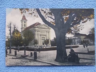 Náchod Jaroměřice pevnost Josefov náměstí kostel