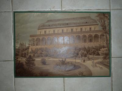 Školní plakát architektura Belveder, Letohrádek královny Anny - Praha