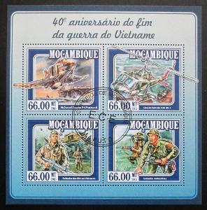 Mosambik 2015 Vietnamská válka Mi# 7815-18 Kat 15€ 1521