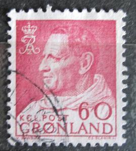 Grónsko 1968 Král Frederik IX. Mi# 69 1521