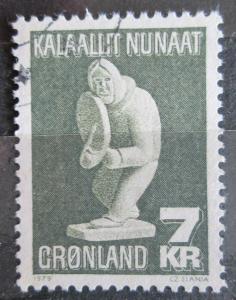 Grónsko 1979 Umění, Simon Kristoffersen Mi# 117 1521