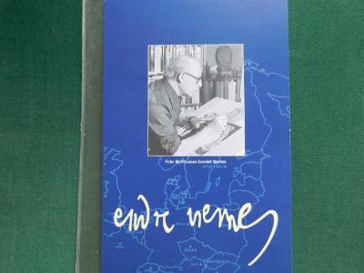 Umění - Endre Nemes 1996 - Černotisky a známky ČR, SR, Švédska