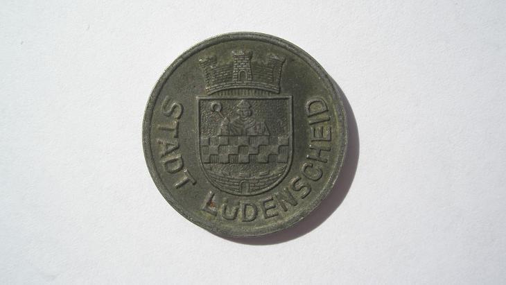Lüdenscheid 10 fenik 1919 - Numismatika