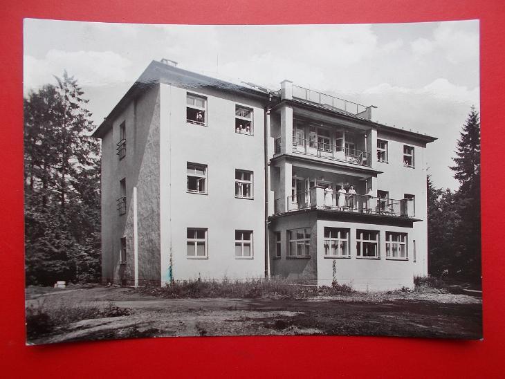 Karviná Darkov lázně  Léčebný dům Jiřina  - Pohlednice