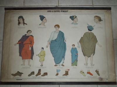 Školní plakát kroj Římský