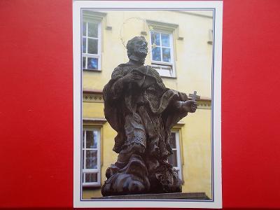 Beskydy Frýdek Místek Frýdlant Ostravice socha sv. Jan Nepomucký