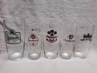 Různé pivní poháry (336)