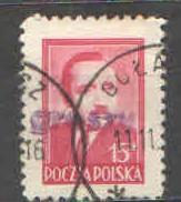Polsko - Mi 626 - Přetisk grosze