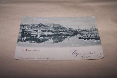 ROUDNICE NAD LABEM  DA r.1902 /Litoměřice /ak1/