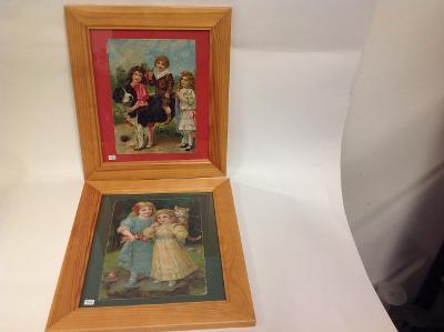 4 obrázky na zeď dětský motiv