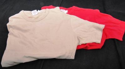 Tričko dámské, kr. rukáv -2 ks vel. S  (FO 18234 )