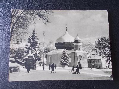 Šumava Klatovy Železná Ruda Hradec u Opavy Krajské dožínky razítko 55
