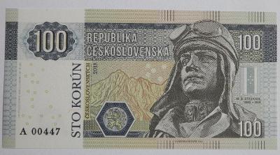 Československo - 100 Korun - 2018 - M.R. Štefánik