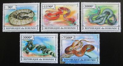 Burundi 2013 Hadi Mi# 3223-27 1544
