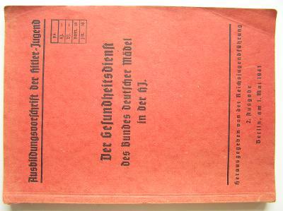 kniha Der Gesundheitsdienst BDM i.d. HJ