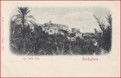 Bordighera * La Vieille Ville, Stengel nr. 6752 * Itálie * Z1480