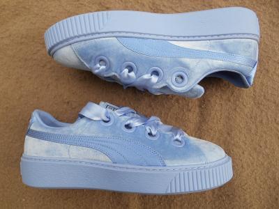 Nové dámské boty - tenisky zn.: PUMA Platform Kiss Velvet vel. 41